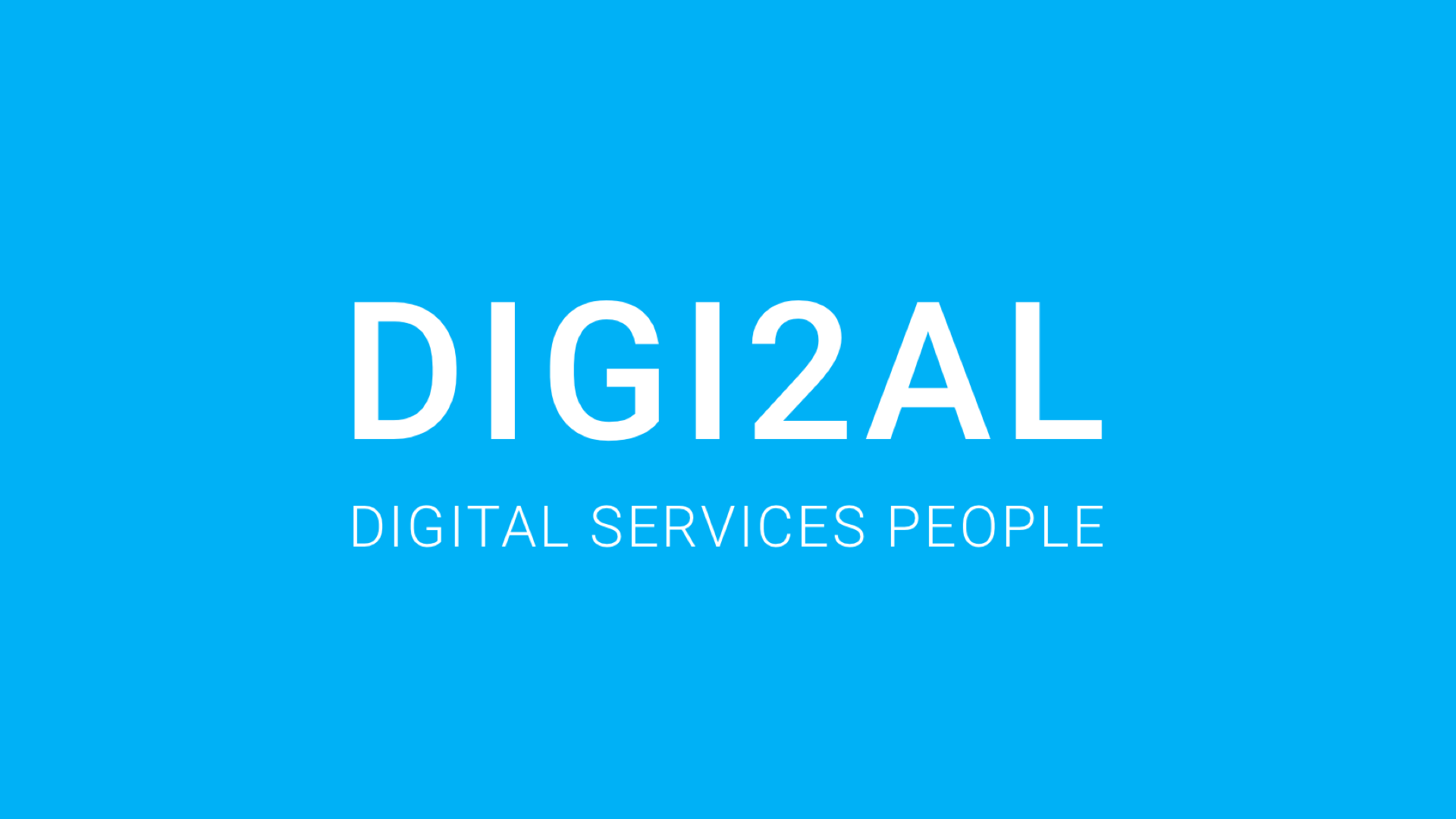 "Company logo - ""Digi2al: digital services people"""